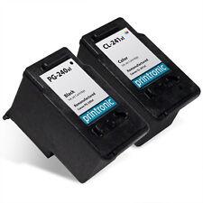 2 Pk for Canon PG-240XL CL-241XL Ink Cartridge PIXMA MG2220 MG3222 MX372 MX452