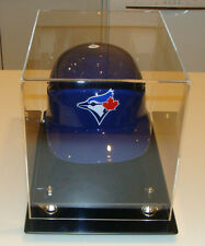 Baseball Batting Helmet  Display Holder Case Caseworks Riser Showcase Frame