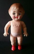 Tod L Dee Rubber Baby Doll Viceroy 10 Inch Girl Squeaker Toy Dolly Vintage 1950s