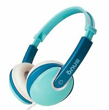 OPENBOX Snug Plug N Play Kids Headphones for Children Turquoise