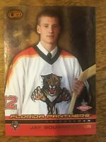 2002-03 Pacific Heads Up - JAY BOUWMEESTER #134 Florida Panthers Rookie RC /1000