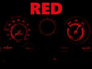 Gauge Cluster LED Dashboard Bulbs Red For GMC 67 - 72 C15 C25 C35 K15 Truck