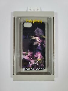 Heyday Phone Case iPhone 6, 7, & 8 Purple Rose Floral Hard Case New