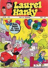 LAUREL ET HARDY 6 ANNEE 1973 RARE