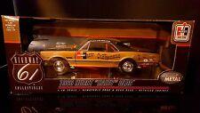 1/18 Highway 61 1966 Hurst Hairy Olds Oldsmobile 4-4-2 Black Gold 50089 MIB
