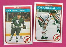 1982-83 OPC DEVILS RICK MEAGHER RC + JOE CIRELLA RC   CARD (INV# C2454)