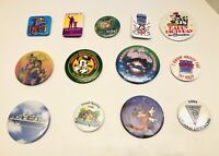 Vtg Lot Of 13 Disney Figment Disneyana NFFC WDW World Of Disney Button Pins RARE