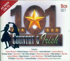 101 COUNTRY & IRISH 5 CD SET 2013