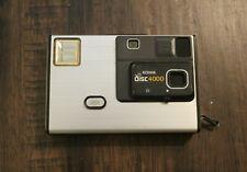 Vintage Kodak Disc 4000 Film Camera - Silver - untested