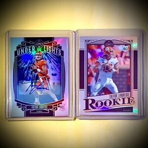 TREVOR LAWRENCE AUTO 2021 Legacy Under the Lights Chromium SP + FREE SILVER RC