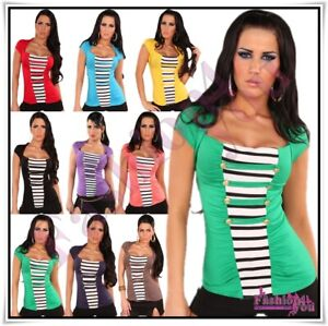 Sexy Women's Casual Blouse Ladies Summer Top + Bolero One Size 8,10,12,14 UK