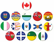 More details for canada state flags pin button badge magnet keyring bottle opener mirror