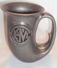Silver Metal Mug Horn Cup / Stein