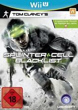 Nintendo Wii U Tom Clancys Splinter Cell Blacklist NEU