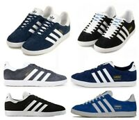 Adidas Originals Gazelle Mens Trainers Lace Up Casual Shoes Size 7 8 9 10 11