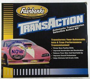 AODE Shift Kit Superior  Fairbanks TransAction 4R70W Transmission 4R75W 76173S