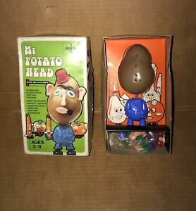 VINTAGE MR POTATO HEAD TOY BY PETER PAN PLAYTHINGS - PARTS VGC