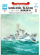 Card Model Kit – Destroyers HMS Garland and HMS Bedale
