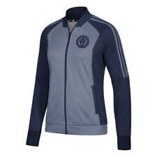 Philadelphia Union MLS Adidas Women's Team Logo Blue Full Zip Anthem Jacket