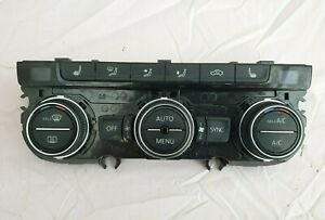 VW Golf MK7.5 Heater Climate Control Heated Seats Panel 5G0907044FQ