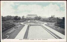 (gi1) St. Louis MO: Scene in Shaw's Garden
