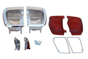 PG Classic 306-BLKIT Mopar 1969 Plymouth Barracuda Taillight Kit