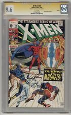 X-MEN #63 REPRINT CGC 9.6 NM+ = WHITE PAGES & SIGNED BY NEAL ADAMS!