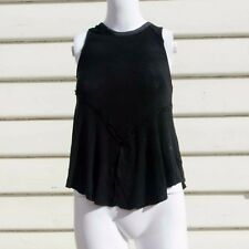 Free People Sleeveless Tank Size XS in Black