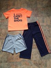Super cool!!! Boy's CARTER'S Pyjama Set Age 6 Sports THEME FROM USA-Bas commencer