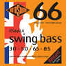 ROTOSOUND RS66LA SWING BASS STAINLESS STEEL BASS STRINGS, LIGHT GAUGE 4's 30-85