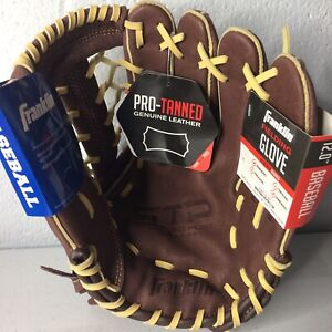 "FRANKLIN RTP PRO SERIES 12"" LEATHER  BASEBALL GLOVE RH THROWERS  YOUTH"