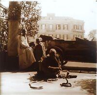 Smoothie Da Serpente Algeri Algeria Foto Stereo PL58L Placca Lente Vintage
