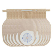 10pcs Ostomy Colostomy Ileostomy Stoma Open Drainable Pouch Bag Disposable Bags
