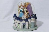 "Walt Disney Beauty And The Beast Castle Snowglobe ""Tale As Old As Time"""