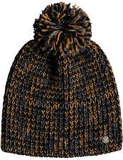 2c2255e950e Roxy Romantic RDV Bobble Hat in Anthracite