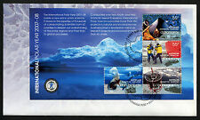 2008 AAT International Polar Year Minisheet FDC First Day Cover Stamps Australia
