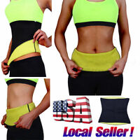 Waist Trimmer Exercise Wrap Belt Slim Burn Fat Sweat Weight Loss Body Shaper GS