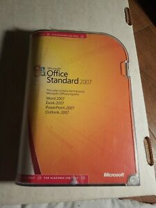 MICROSOFT OFFICE STANDARD 2007 ACADEMIC WITH PRODUCT KEY!!