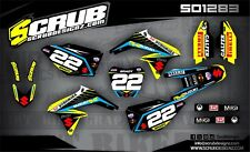 SCRUB Suzuki graphics decals kit RMz 250 2010-2018 MX stickers motocross '10-'18