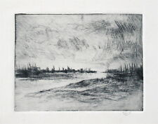 Wilson Silsby California Artist Signed Etching (II)