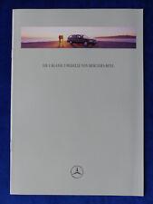 Mercedes-Benz Clase C T-modelos s202 C 180 C 250 TD-folleto brochure 02.1997