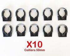 Colliers PVC de fixation à clip PP fermé PVC 50mm (Lot de 10) Fixation Industrie