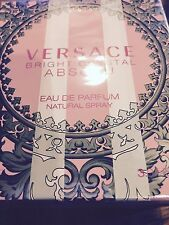 Bright Crystal Absolu By Versace 3.0oz./90ml Edp Spray For Women New In Box