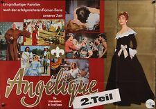 ANGELIQUE MERVEILLEUSE German A0 movie poster 33x47 MICHELE MERCIER