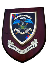 SBS Wall Plaque UK Made for MOD Special Boat Service Old Style