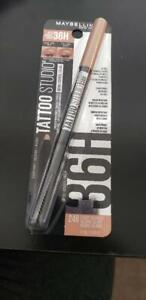 Maybelline Tattoo Studio 36HR Longwear Brow Pencil ~ Choose From 6 Shades