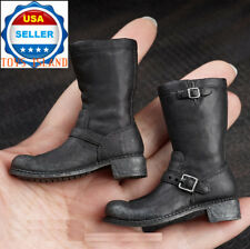 1/6 Terminator Arnold T800 Tactical Combat Boots For Hot Toys Phicen Figure�Usa�