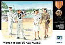 Master Box ™ 3556 women at War: US Navy Waves figure in 1:35
