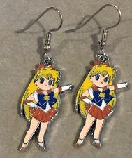 SAILOR VENUS Earrings Surgical Hook New Anime Sailor Moon