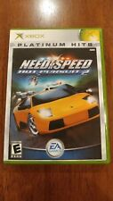Need for Speed: Hot Pursuit 2 Platinum Hits (Microsoft Xbox 2003) NEAR MINT COMP